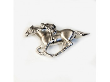 BROCHE CHEVAL JUMPING FALABELLA