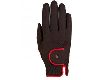 Gants Roeckl light and grip Noir liseré rouge