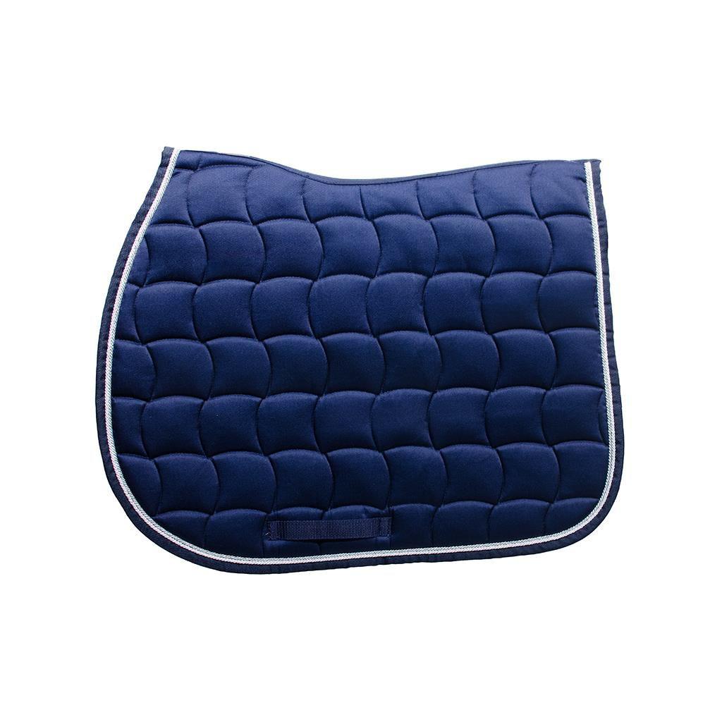 Tapis bleu marine chantilly harcour boutique equitation - Tapis bleu marine ikea ...