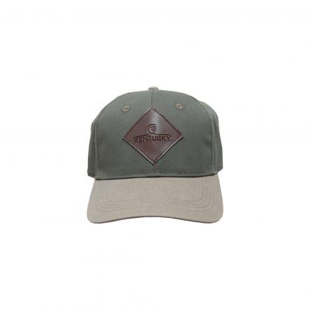 la meilleure attitude 6040c 2787e Casquette Baseball logo en cuir Kentucky - Boutique Equitation